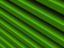 Green stripes abstract background for. Graphic design, book cover template, business brochure, website template design. 3D illustration Royalty Free Stock Image