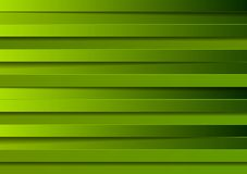 Green stripes design Stock Image