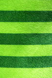 Green and strips towel Stock Images