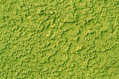 Green Stucco Stock Photo