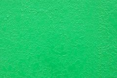 Green stucco plaster rendered concrete wall background Stock Images