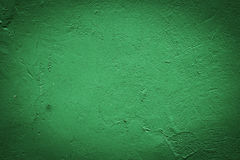 Green stucco wall background or texture Royalty Free Stock Photos