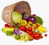 Green-stuff. Fresh vegetables Stock Images