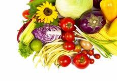 Green-stuff. Fresh vegetables Stock Photography