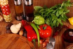 Green-stuff. Fresh vegetables Stock Image