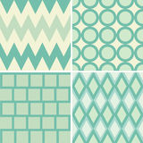 Green style pattern Stock Photos