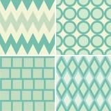 Green style pattern Stock Photos