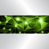 Green stylish background Royalty Free Stock Photography
