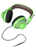 Green and stylish headset Stock Image