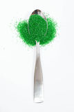 Green Sugar Sprinkles Royalty Free Stock Image