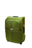 Green suitcase Stock Photo