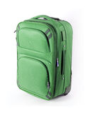 Green suitcase Royalty Free Stock Photo