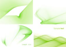 Green suite Stock Images