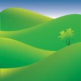 Green summer landscape Stock Photography