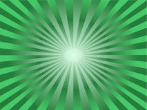 Green sun Royalty Free Stock Image