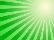 Green sun background Royalty Free Stock Images