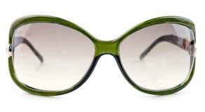 Green sun glasses Stock Photography