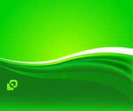Green sunshine - ecological background Stock Image