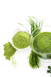 Green superfood. Royalty Free Stock Photos