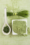 Green superfood. Stock Photography