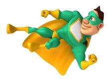 Green Superhero Stock Photo