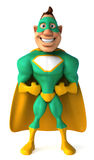 Green Superhero Stock Images