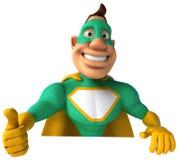 Green Superhero Stock Photos
