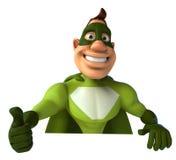Green Superhero Stock Images