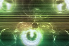 Green Supernova Abstract Background Wallpaper stock photography