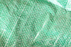 Green Surface of bag. Royalty Free Stock Images