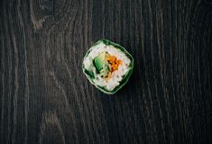 Green sushi Royalty Free Stock Images