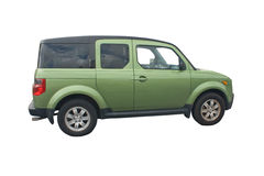Green SUV Royalty Free Stock Photography