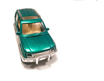 Green SUV car Royalty Free Stock Images
