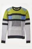 Green  sweater Stock Photo