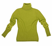 Green sweater Stock Image