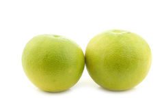 Green sweet grapefruits called sweetie Stock Photos