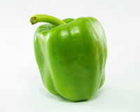 Green sweet pepper. Royalty Free Stock Photos