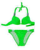 Green swimsuit Stock Photo