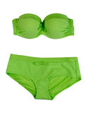 Green swimsuit. Royalty Free Stock Images