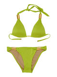 Green swimsuit Royalty Free Stock Image