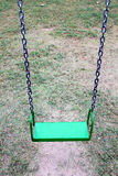 Green swing Royalty Free Stock Image