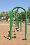 Green Swing Set Royalty Free Stock Images