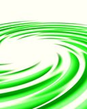 Green swirl Royalty Free Stock Images