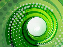 Green swirl  abstract background Stock Photo