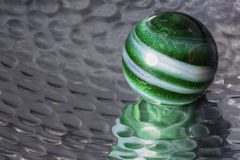 Green Swirl Marble Stock Photo