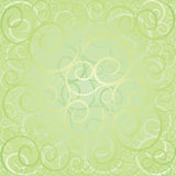 Green swirl pattern Stock Photos