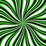 Green Swirly Vortex Royalty Free Stock Photo