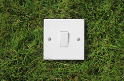 Green Switch Royalty Free Stock Photography