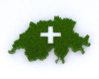 Green switzerland Stock Images