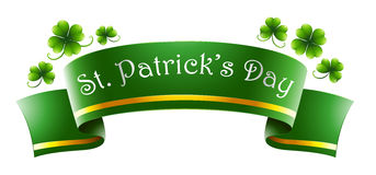 A green symbol for St. Patrick's Day Stock Photos